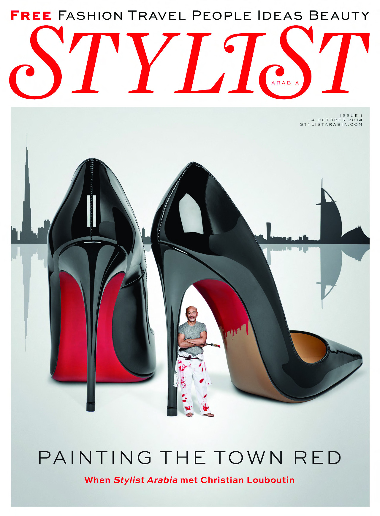5fb7e15de55c News - Christian Louboutin Online - Stylist Arabia Launches with Christian  Louboutin
