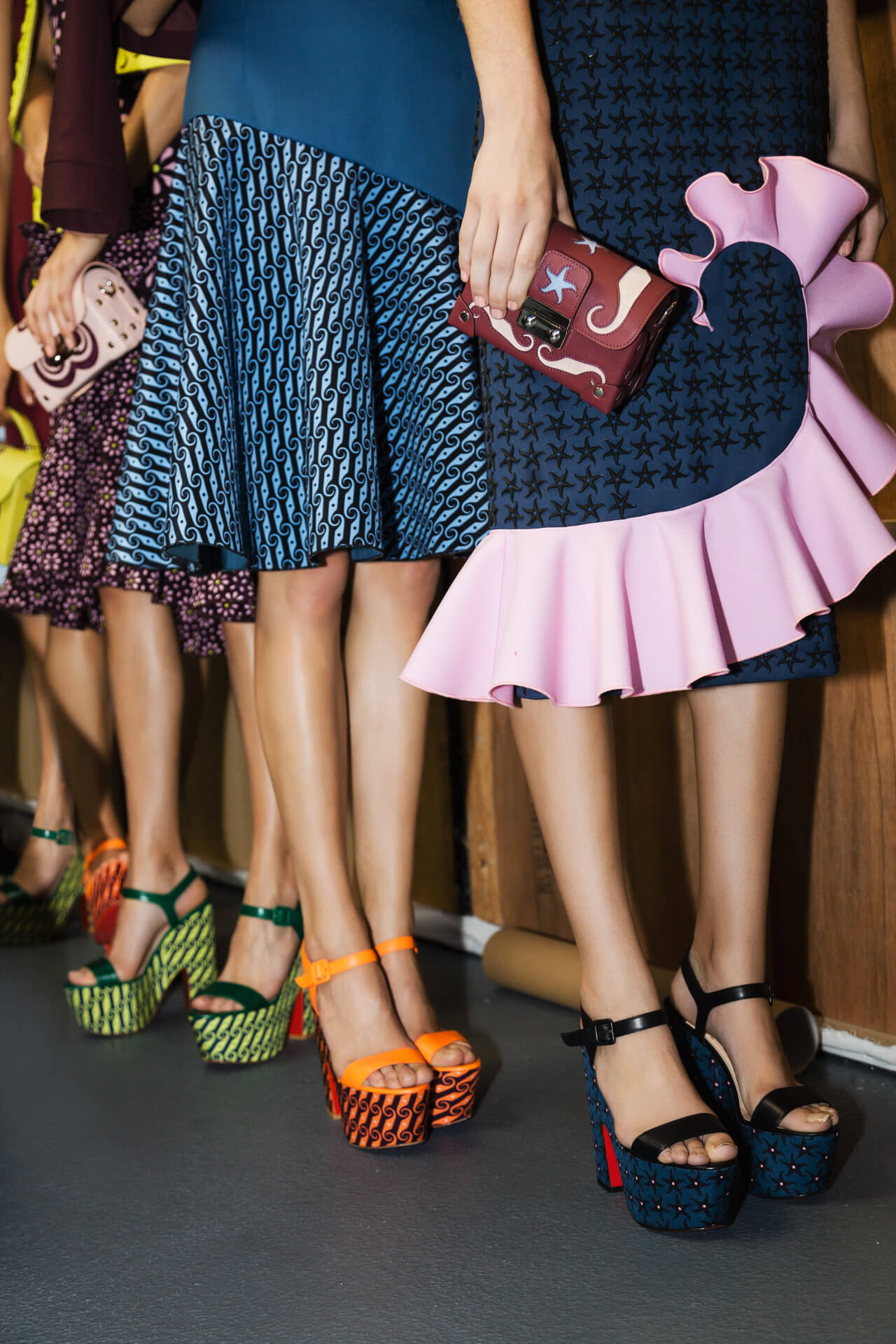 News - Christian Louboutin Online - LFW Gets Love From Louboutin