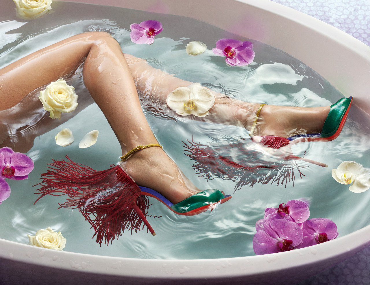water in love lookbook Louboutin PE15
