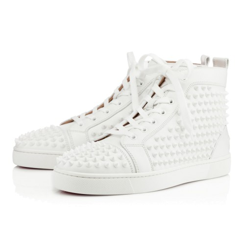 Shoes - Louis Spikes Men's Flat - Christian Louboutin