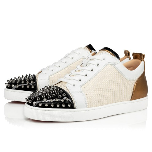 Shoes - Louis Junior Spikes Orlato Flat - Christian Louboutin