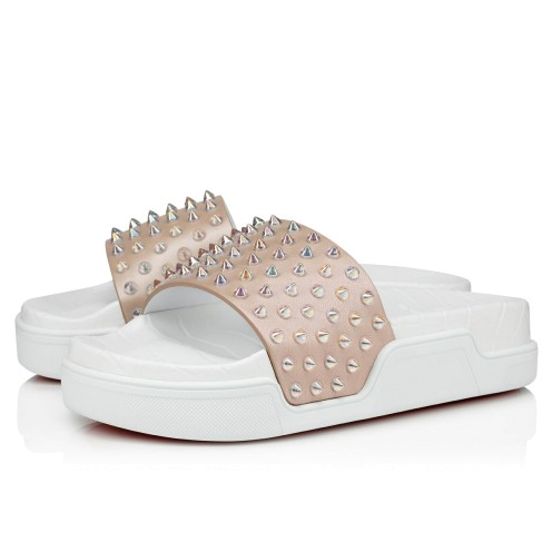 Shoes - Pool Fun Donna Flat - Christian Louboutin