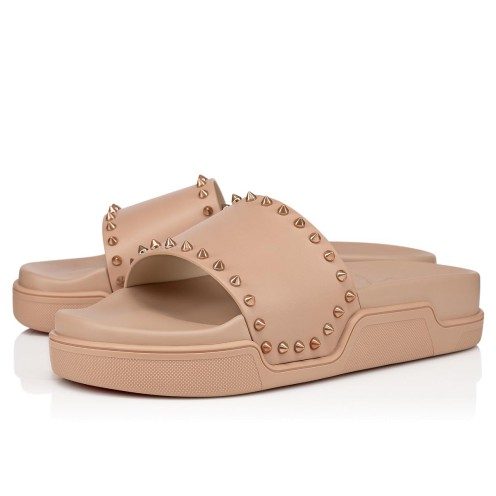 Shoes - Pool Stud Flat - Christian Louboutin