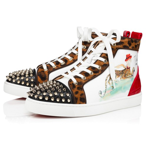 Shoes - Lou Spikes Orlato Flat - Christian Louboutin