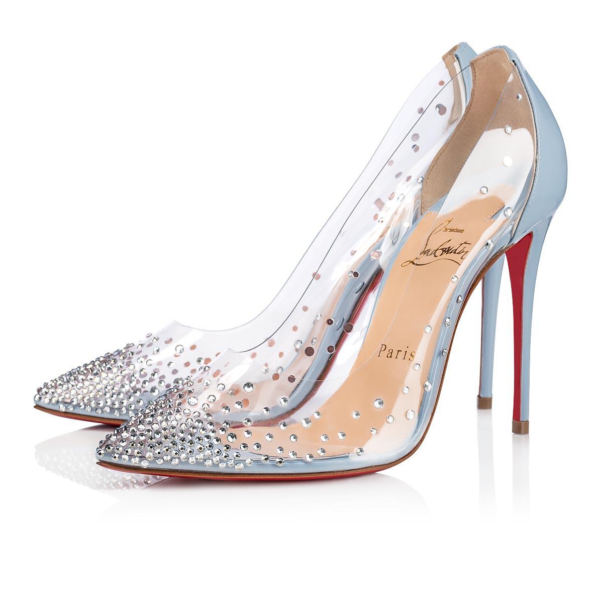 buy popular 585d9 d3a7b Degrastrass 100 Version Sky Strass - Women Shoes - Christian Louboutin