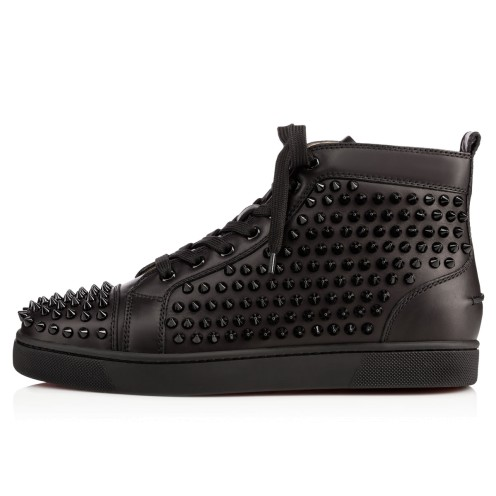 Shoes - Louis Spikes Men's Flat - Christian Louboutin_2