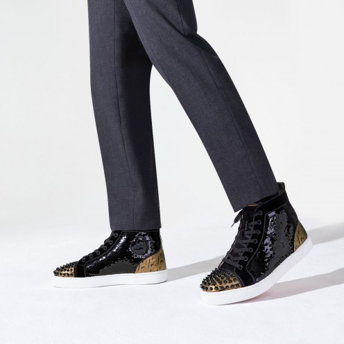 Shoes - Lou Spikes Orlato Flat - Christian Louboutin_2