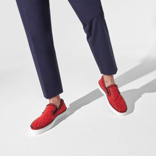 Shoes - Pik Boat Mens Flat - Christian Louboutin_2