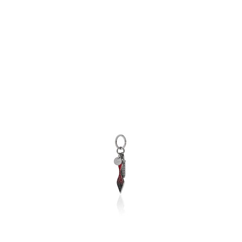 Small Leather Goods - Red Sole Keyring - Christian Louboutin_2