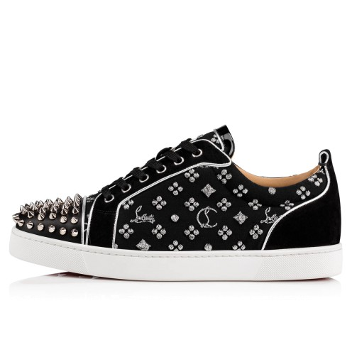 Shoes - Louis Junior Spikes Orlato Men's Flat - Christian Louboutin_2