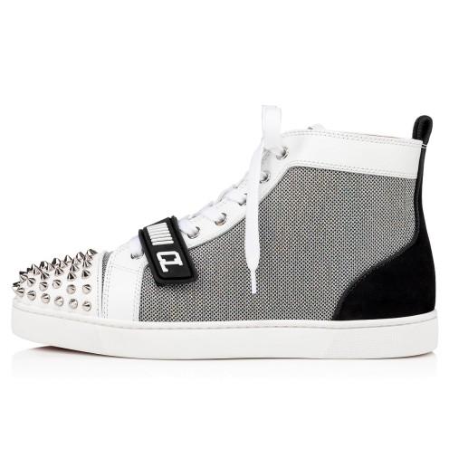 Shoes - Lou Spikes Vs Flat - Christian Louboutin_2