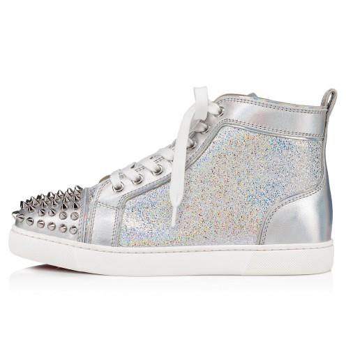 Shoes - Lou Spikes Womens Flat - Christian Louboutin_2
