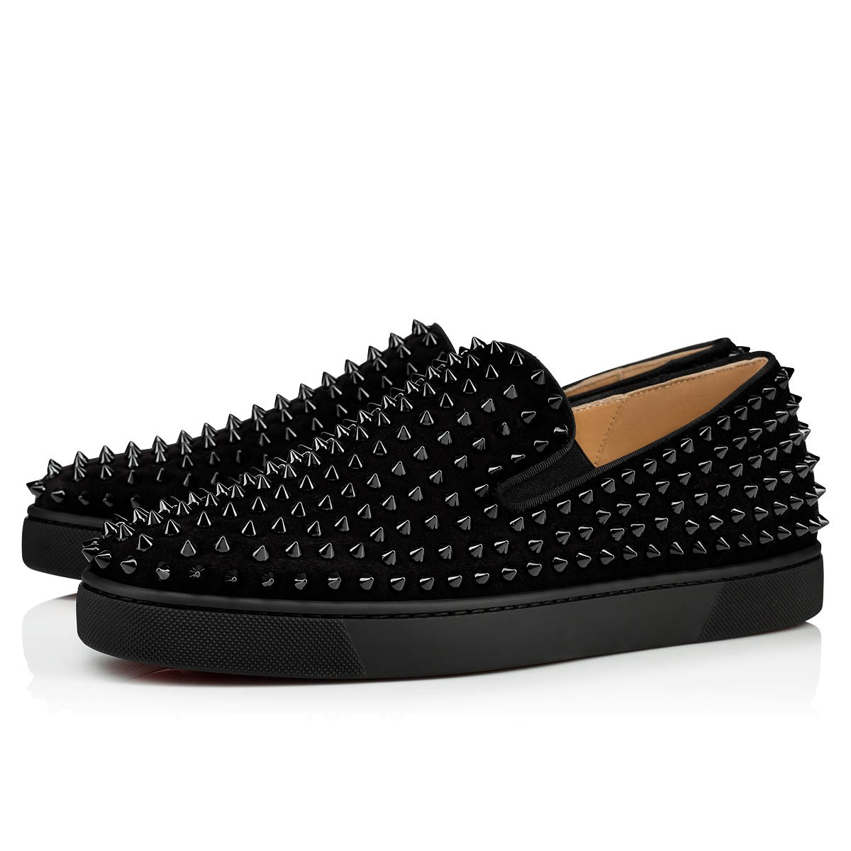 7a9f17ba00e Roller-Boat Black/Black/Bk Suede - Men Shoes - Christian Louboutin