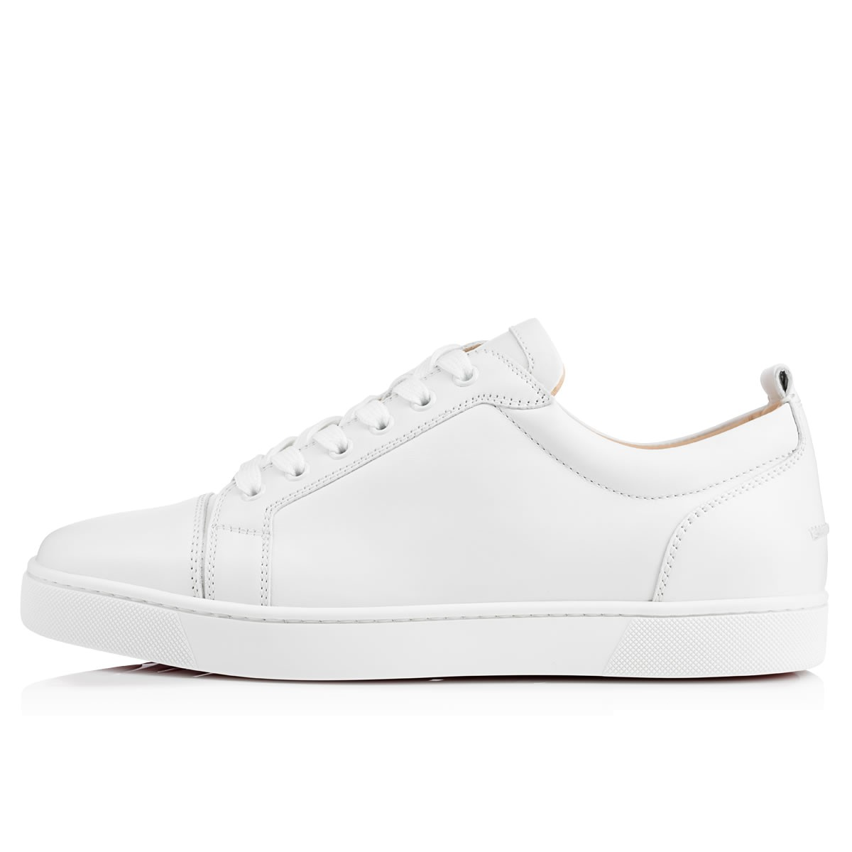 buy popular c0b29 12e1f Louis Junior White Leather - Men Shoes - Christian Louboutin