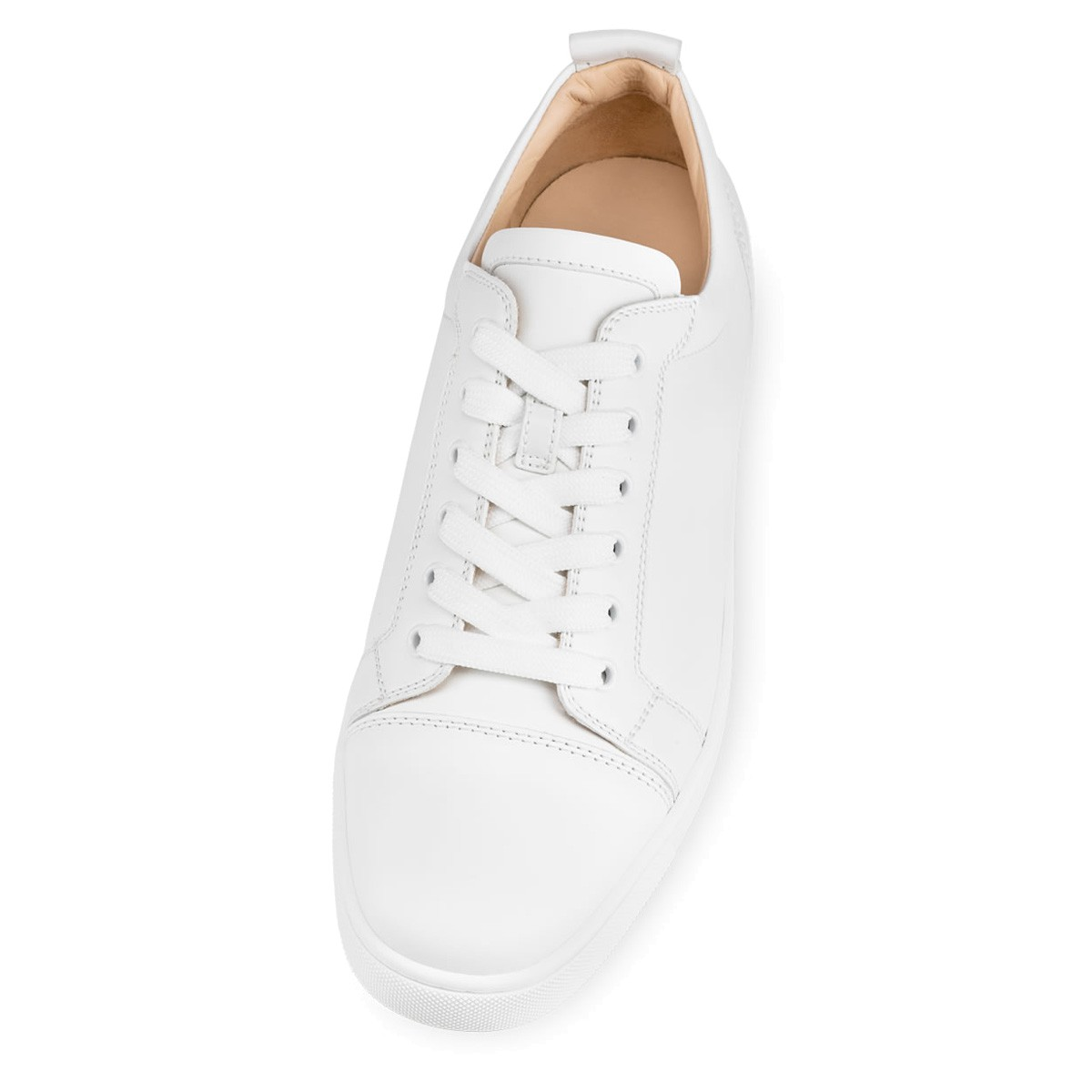 d62f6ff75fa Louis Junior White Leather - Men Shoes - Christian Louboutin
