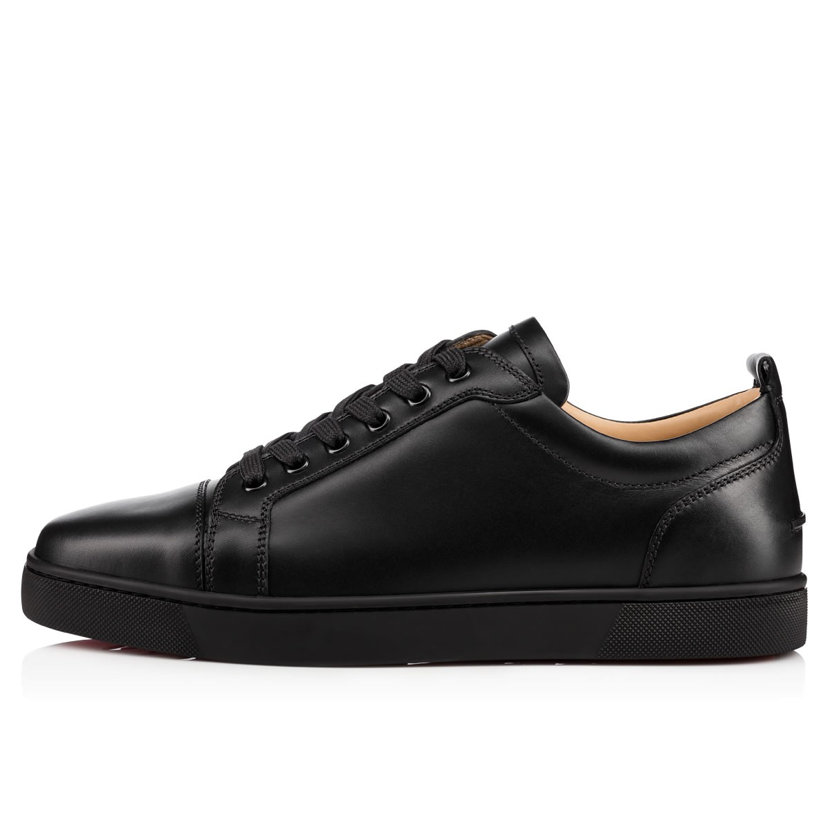 9dd5e873dc6 Louis Junior Black/Black Leather - Men Shoes - Christian Louboutin