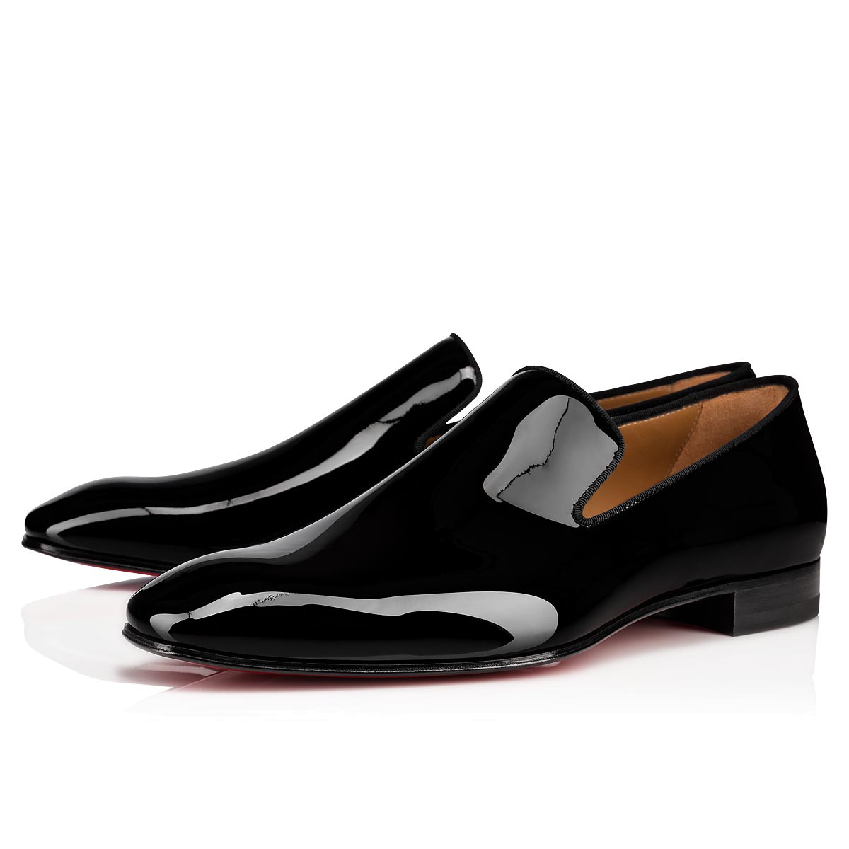 118aee046c4 Dandelion Flat Black Patent Leather - Men Shoes - Christian Louboutin