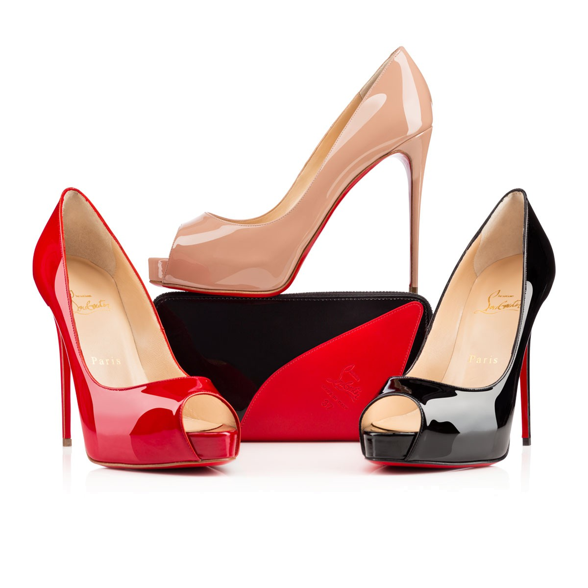 christian louboutin paris red bottoms