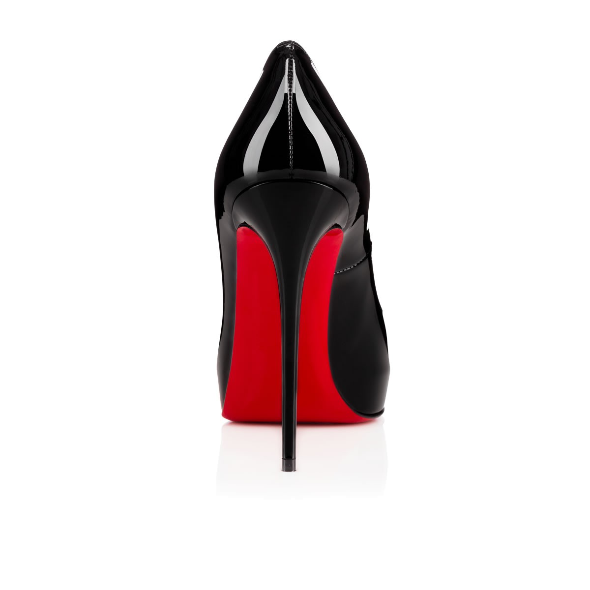 new product e9a84 0729e New Very Prive 120mm Black/Red Patent Leather