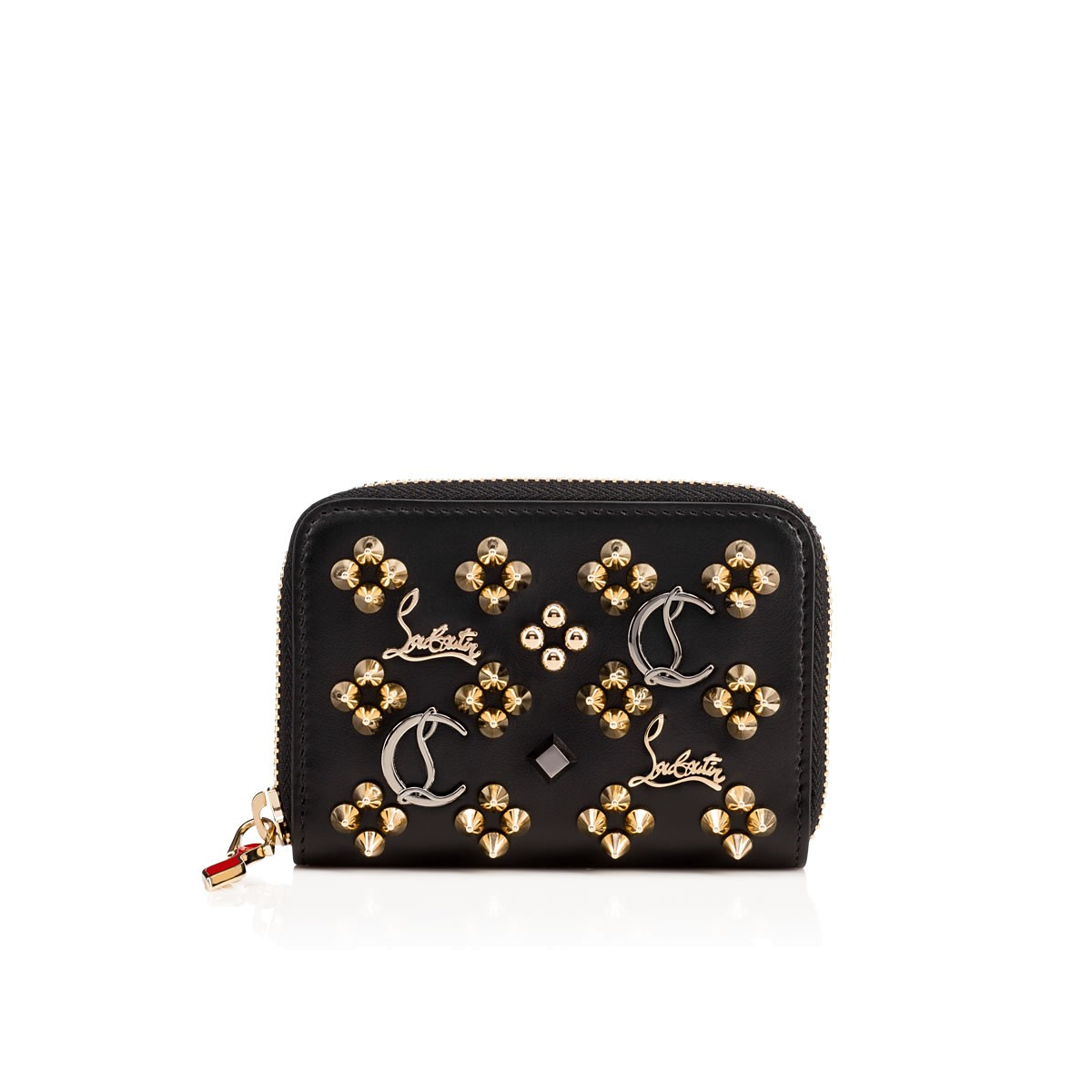 5ed31954606 Panettone Coin Purse Black Calfskin - Accessories - Christian Louboutin