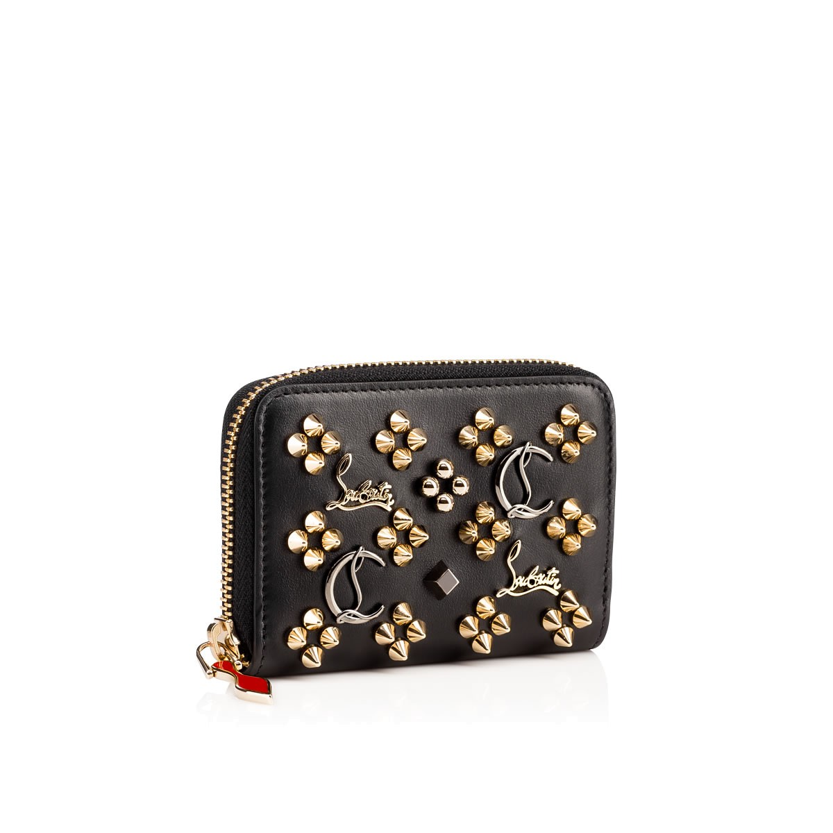 9d7223988d5 Panettone Coin Purse Black Calfskin - Accessories - Christian Louboutin