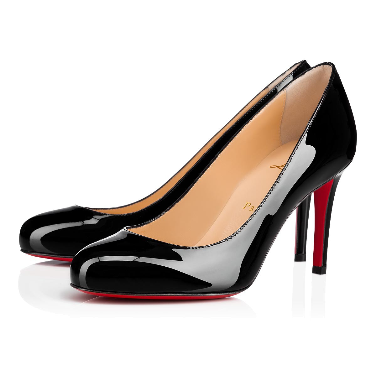 online store d2e94 61def Fifille 85 Black Patent Leather - Women Shoes - Christian Louboutin