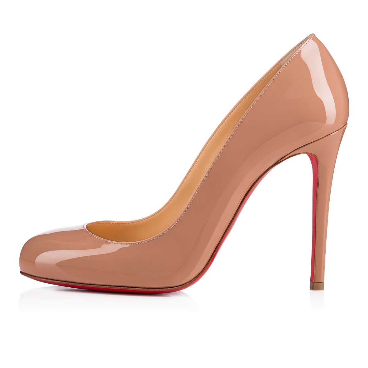 mieux aimé 1a4a7 f98d3 Fifille 100 Nude Patent Leather - Women Shoes - Christian Louboutin