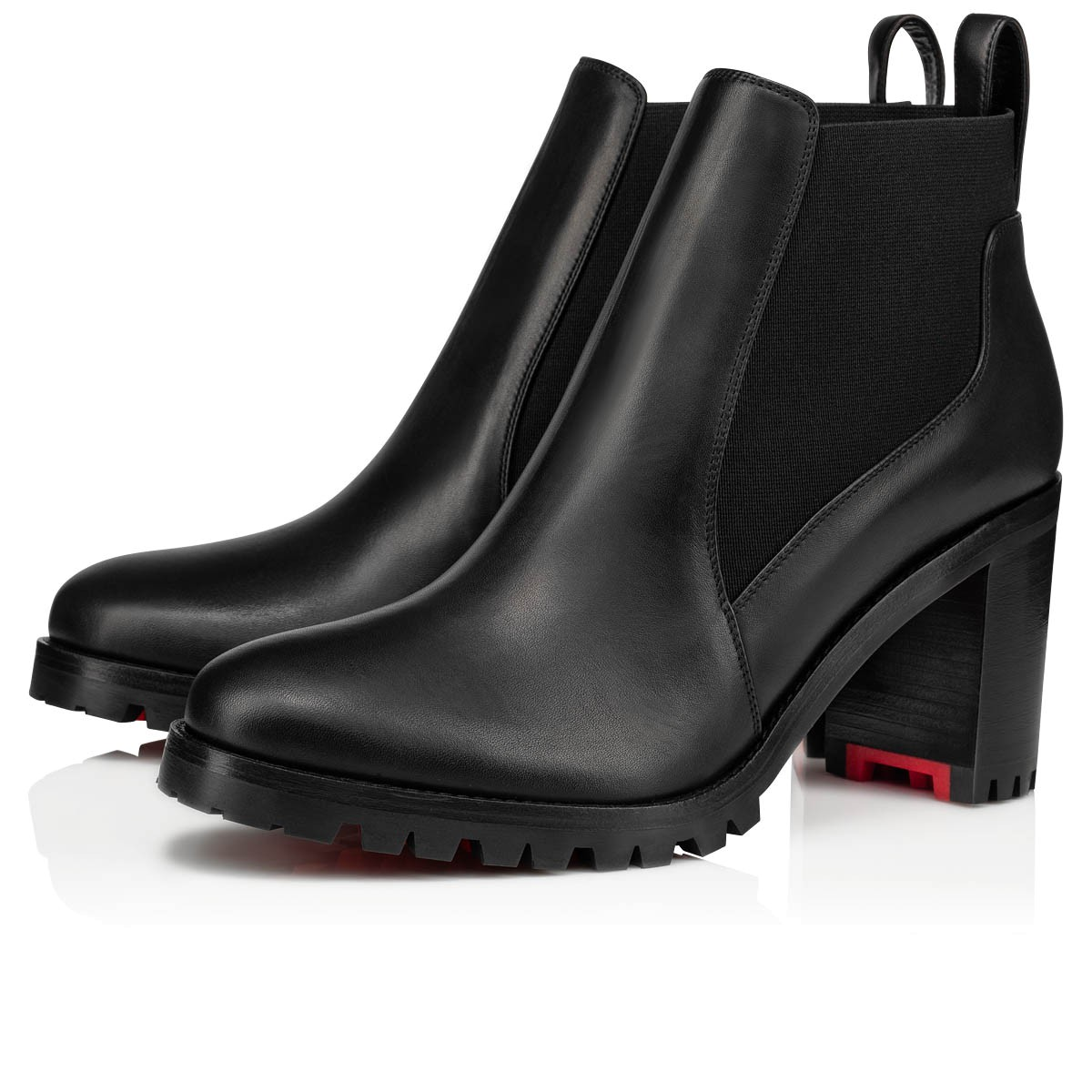 separation shoes 19f1b b5958 Marchacroche 70 Black Leather - Women Shoes - Christian Louboutin