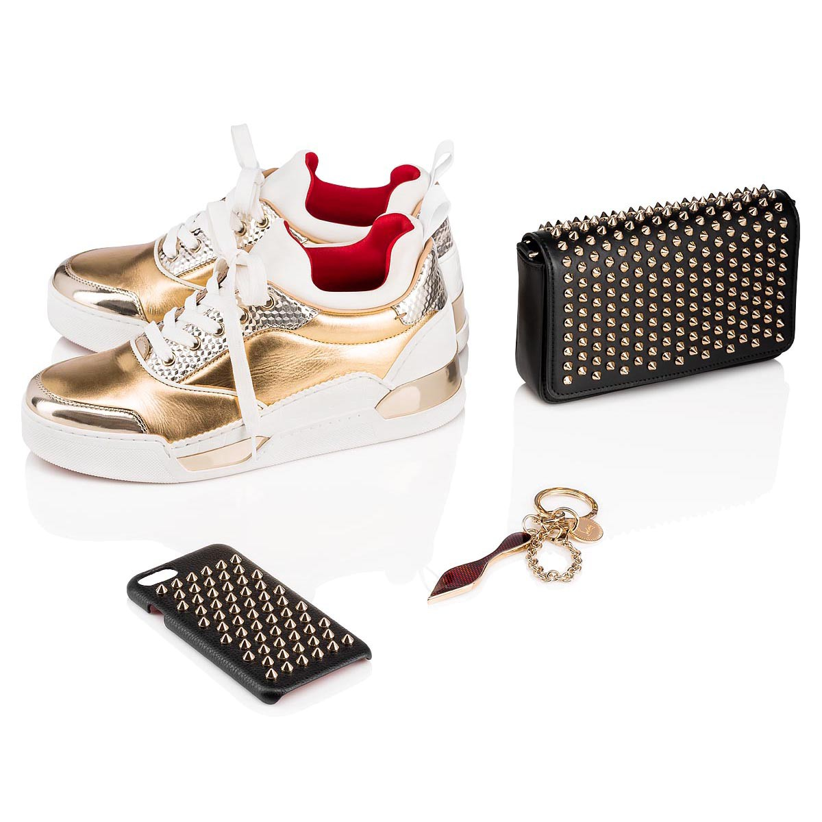 Small Leather Goods - Red Sole Keyring - Christian Louboutin