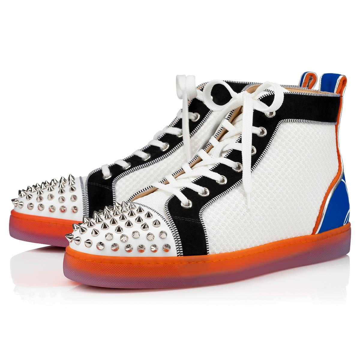 Shoes - Fun Lou Spikes Flat - Christian Louboutin