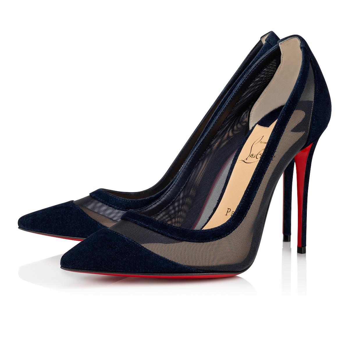 chaussure louboutin bleu