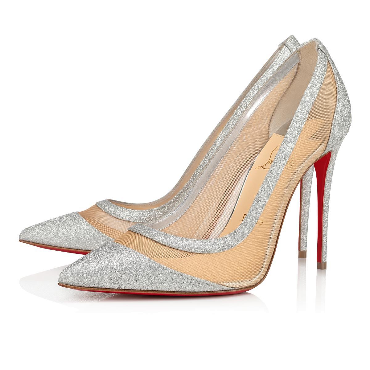 christian louboutin sparkly heels \u003e Up