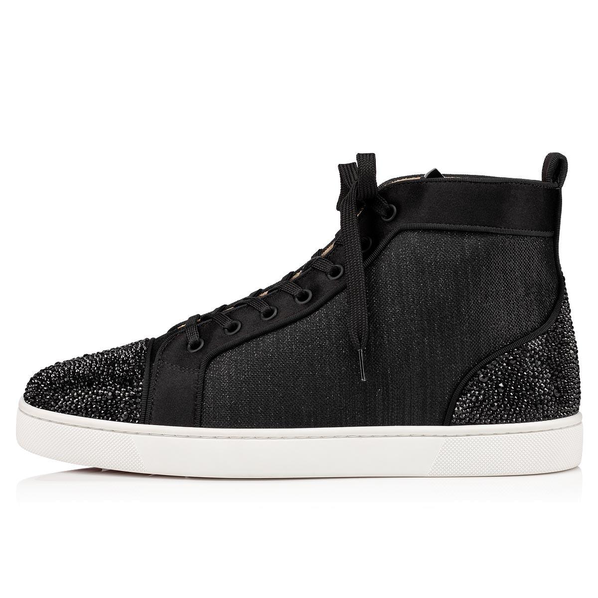 Shoes - Louis P Strass II Flat - Christian Louboutin
