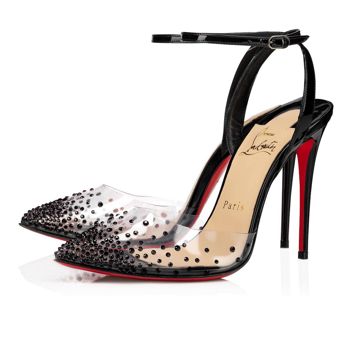 Souliers - Spikaqueen 100 Pvc - Christian Louboutin