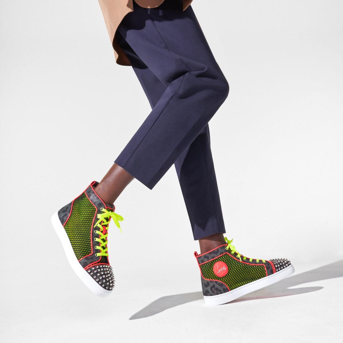 Shoes - Ac Lou Spikes Orlato Flat - Christian Louboutin