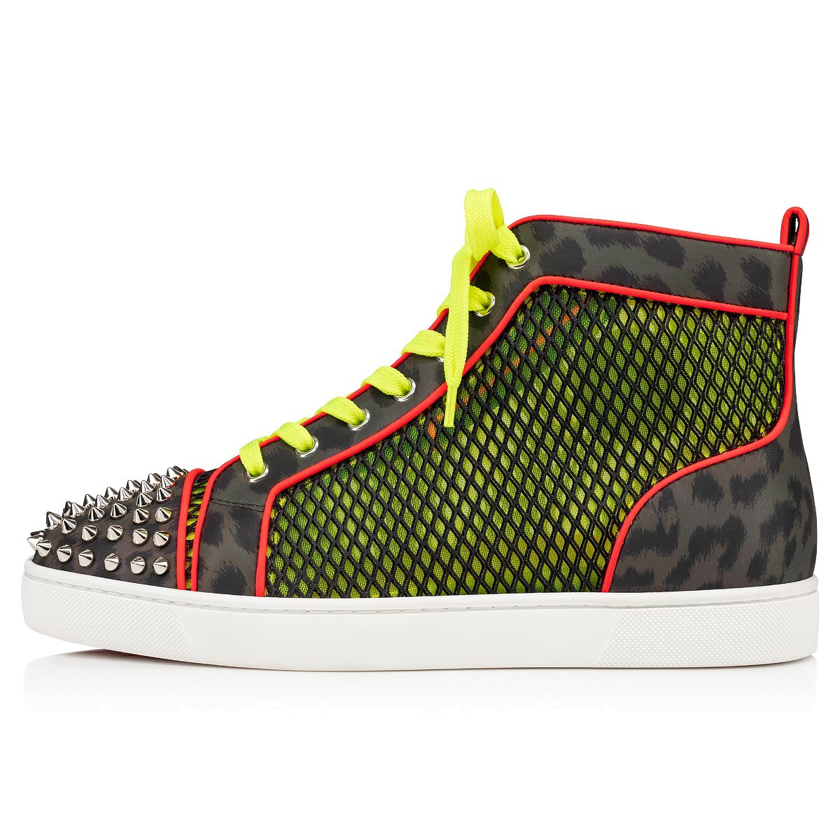 Shoes - Ac Lou Spikes Orlato Flat - Christian Louboutin