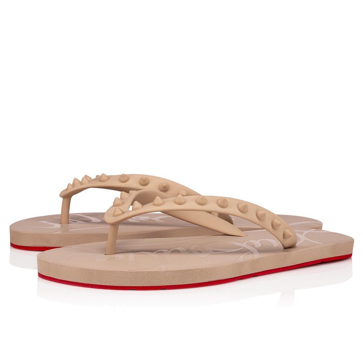 Shoes - Loubi Flip Donna Flat - Christian Louboutin