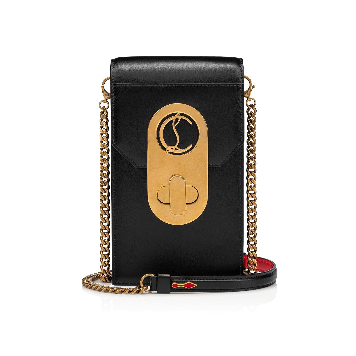 Petite Maroquinerie - Elisa Ph Pouch Classic Leather - Christian Louboutin