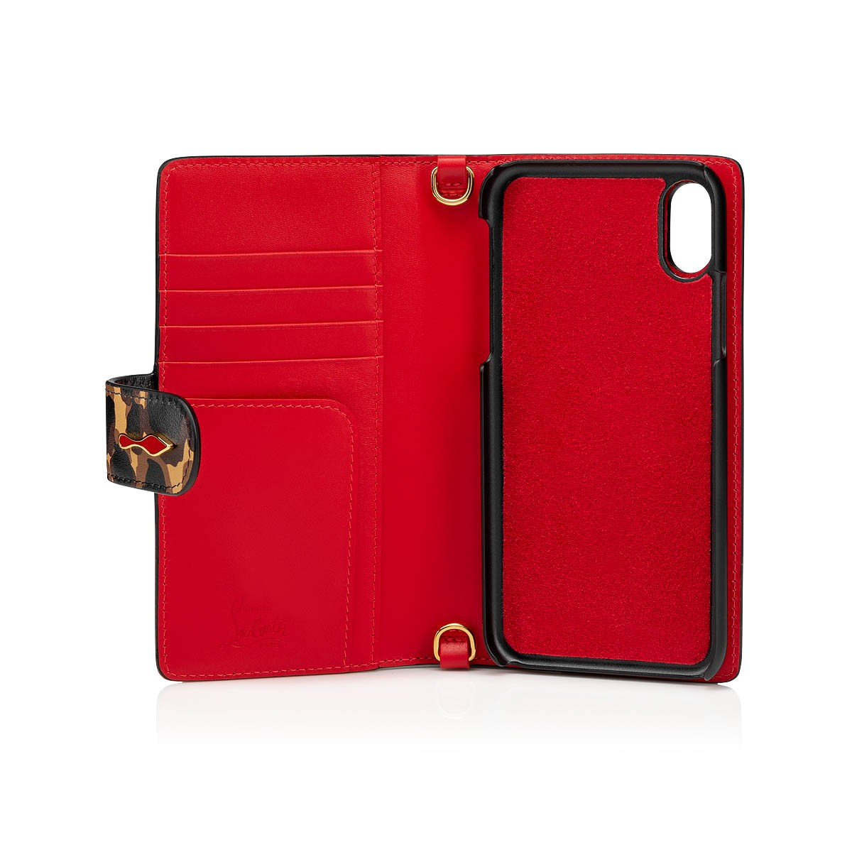 Small Leather Goods - Loubiflap Chain Case - Christian Louboutin