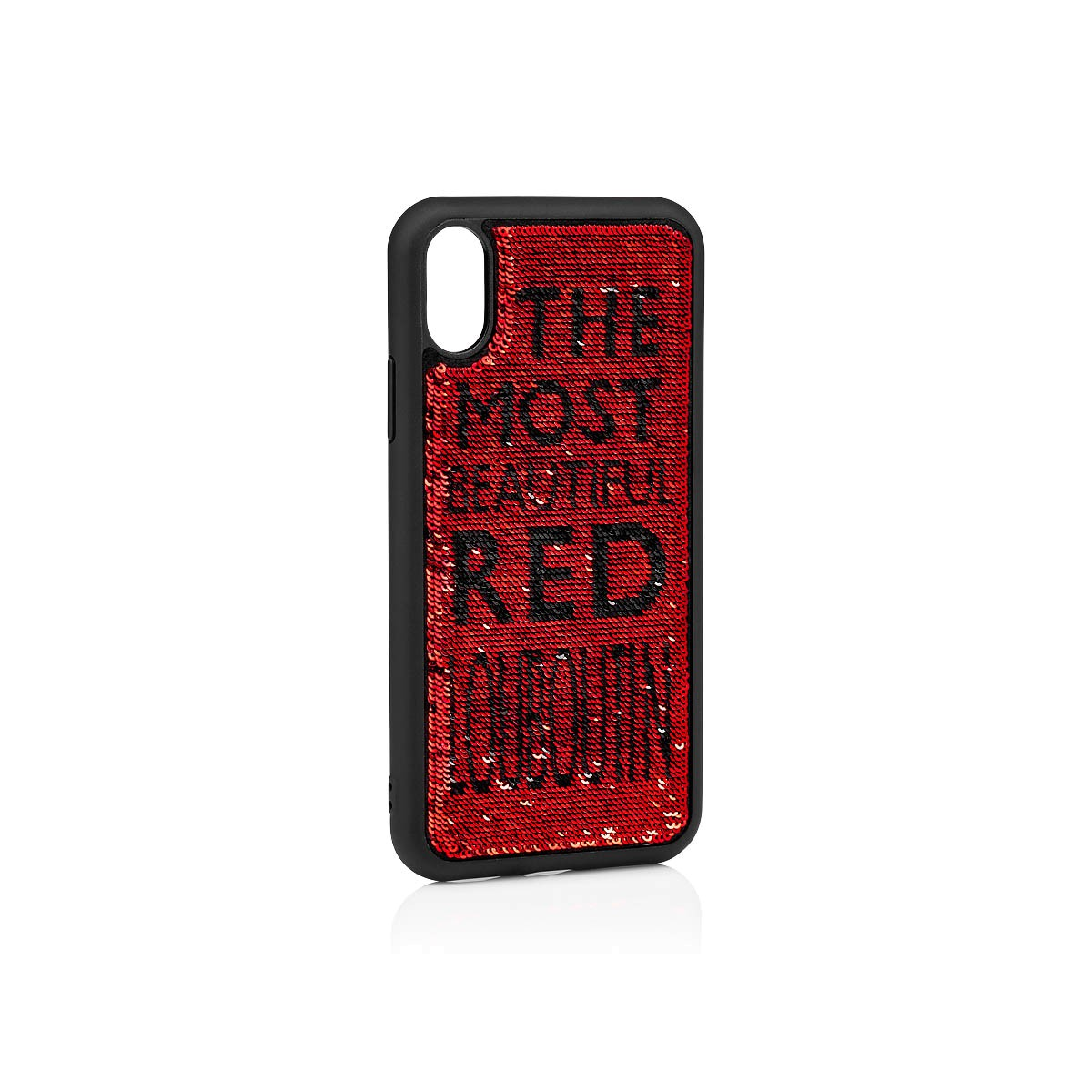 Small Leather Goods - Loubisequins Iphone Case X/xs - Christian Louboutin