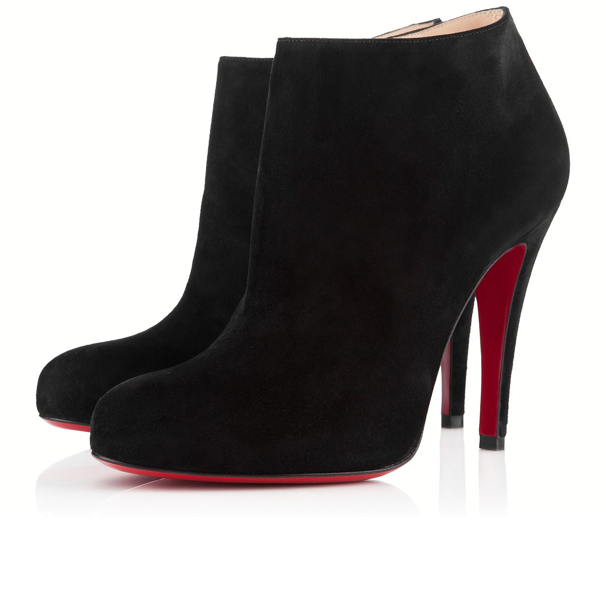 brand new a0d23 a92dd Belle 100mm Black Suede