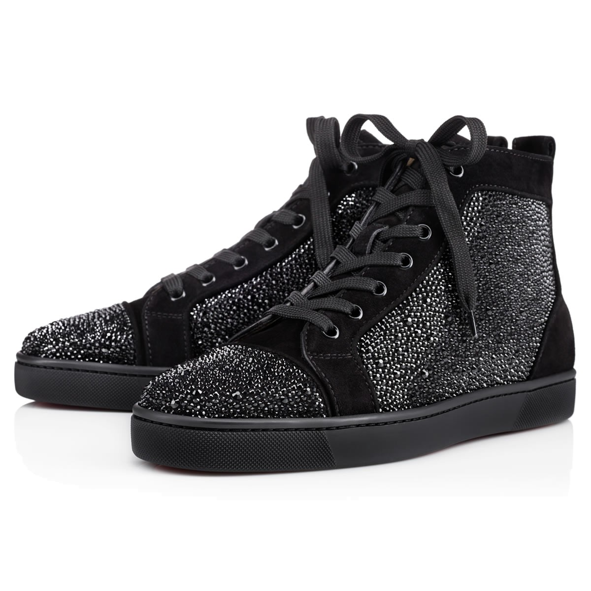 Louis Strass Men s Flat Black Strass - Men Shoes - Christian Louboutin a97f4950b