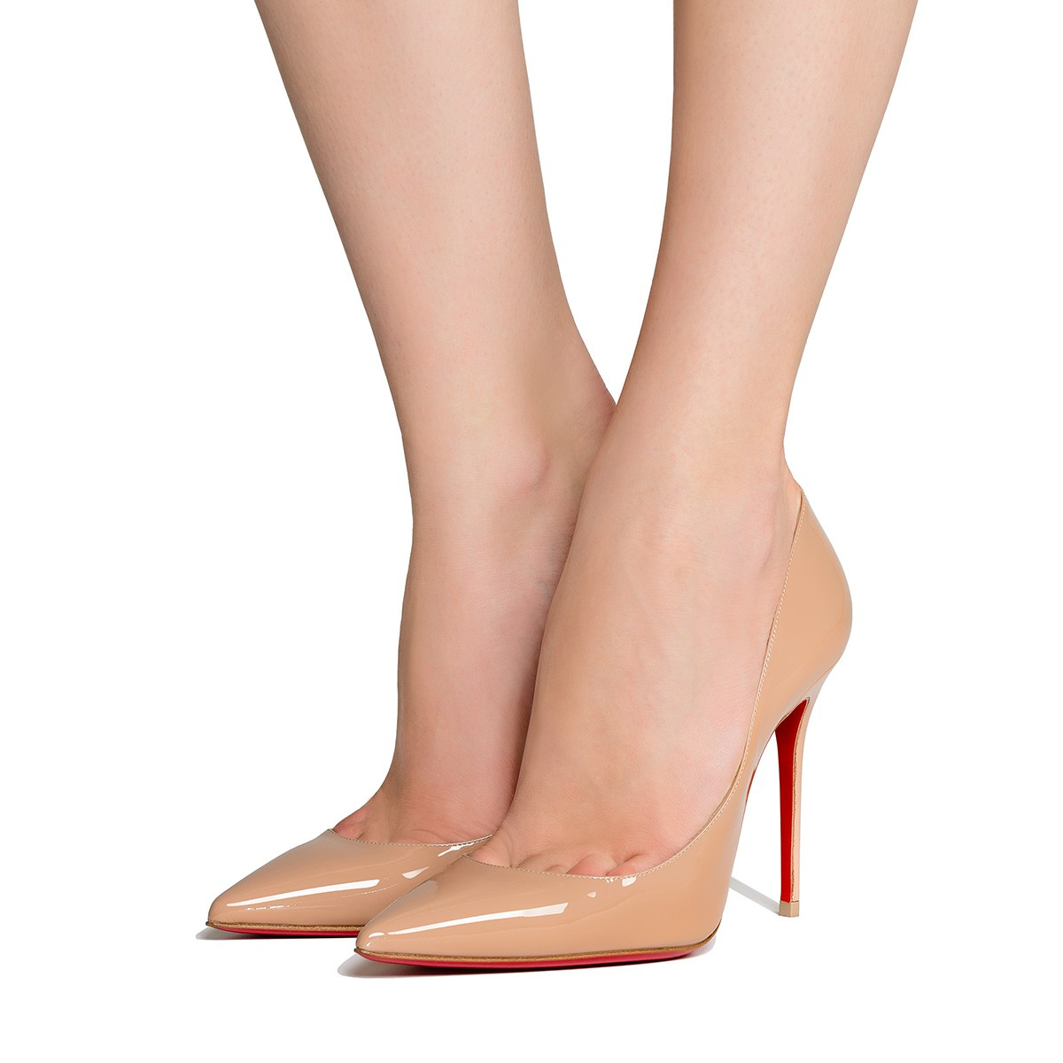 louboutin Simple Pump nudo