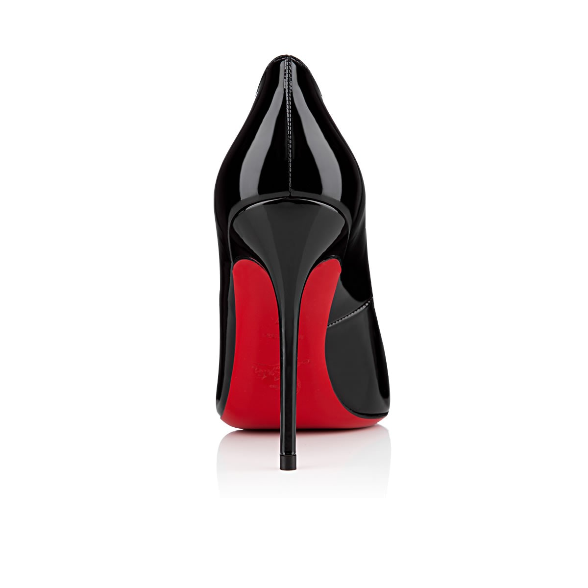 christian louboutin decollete 554 100mm escarpins noir