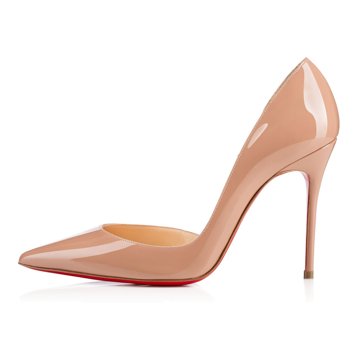 7737a9eb43f Iriza 100 Nude Patent Leather - Women Shoes - Christian Louboutin