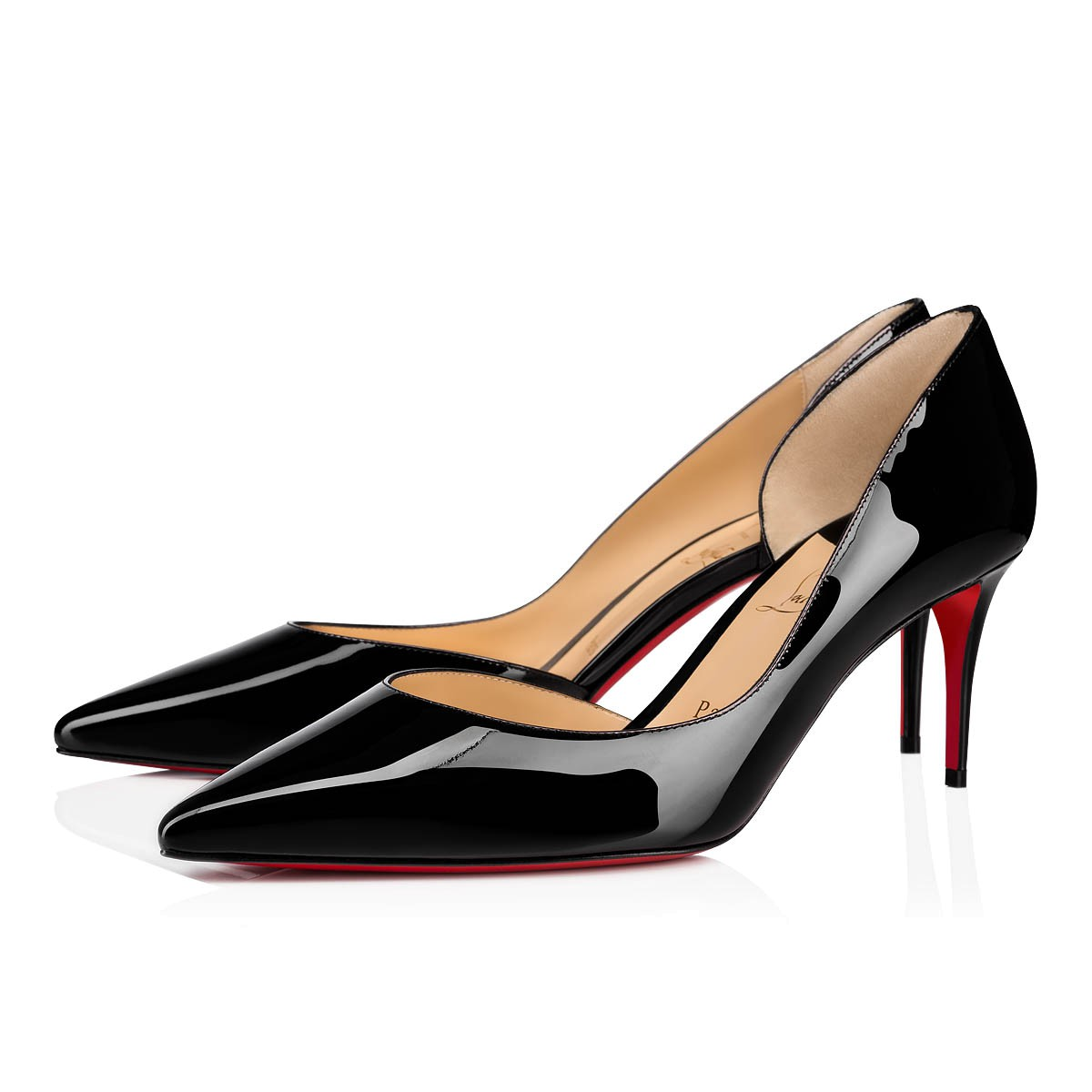 new concept d1126 ab4cf Iriza 70 Black Patent Leather - Women Shoes - Christian Louboutin
