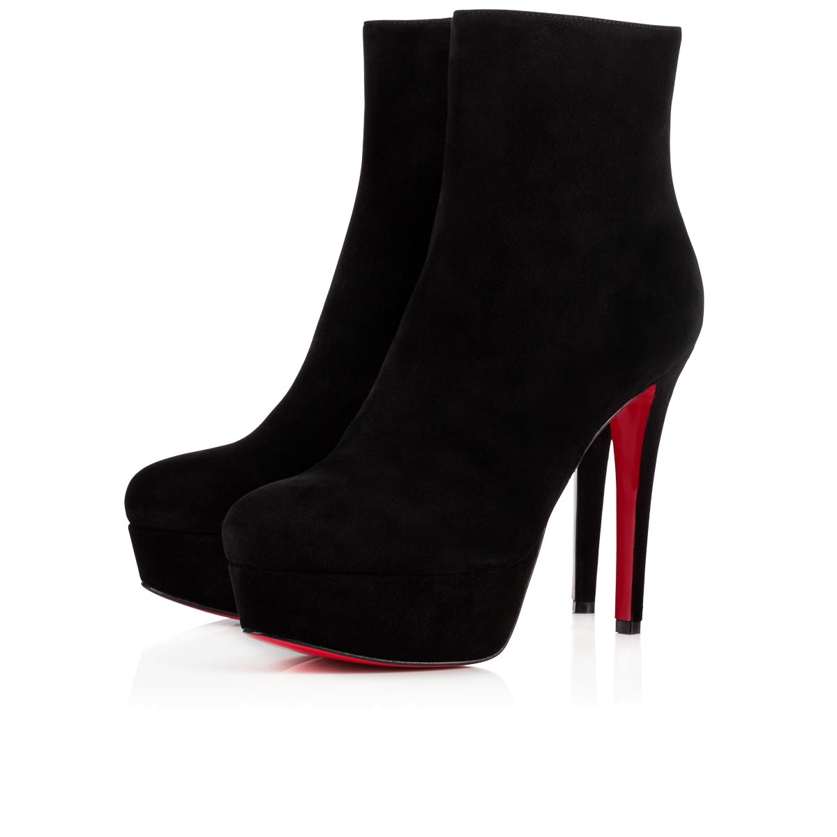 241037f6fad Bianca Booty 120 Black Suede - Women Shoes - Christian Louboutin