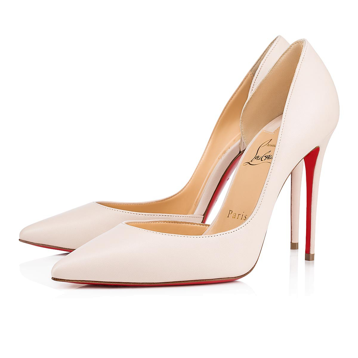 grossiste 42d6c bcd71 Iriza 100 nappa 100 Ivory Nappa Leather - Souliers Femme - Christian  Louboutin