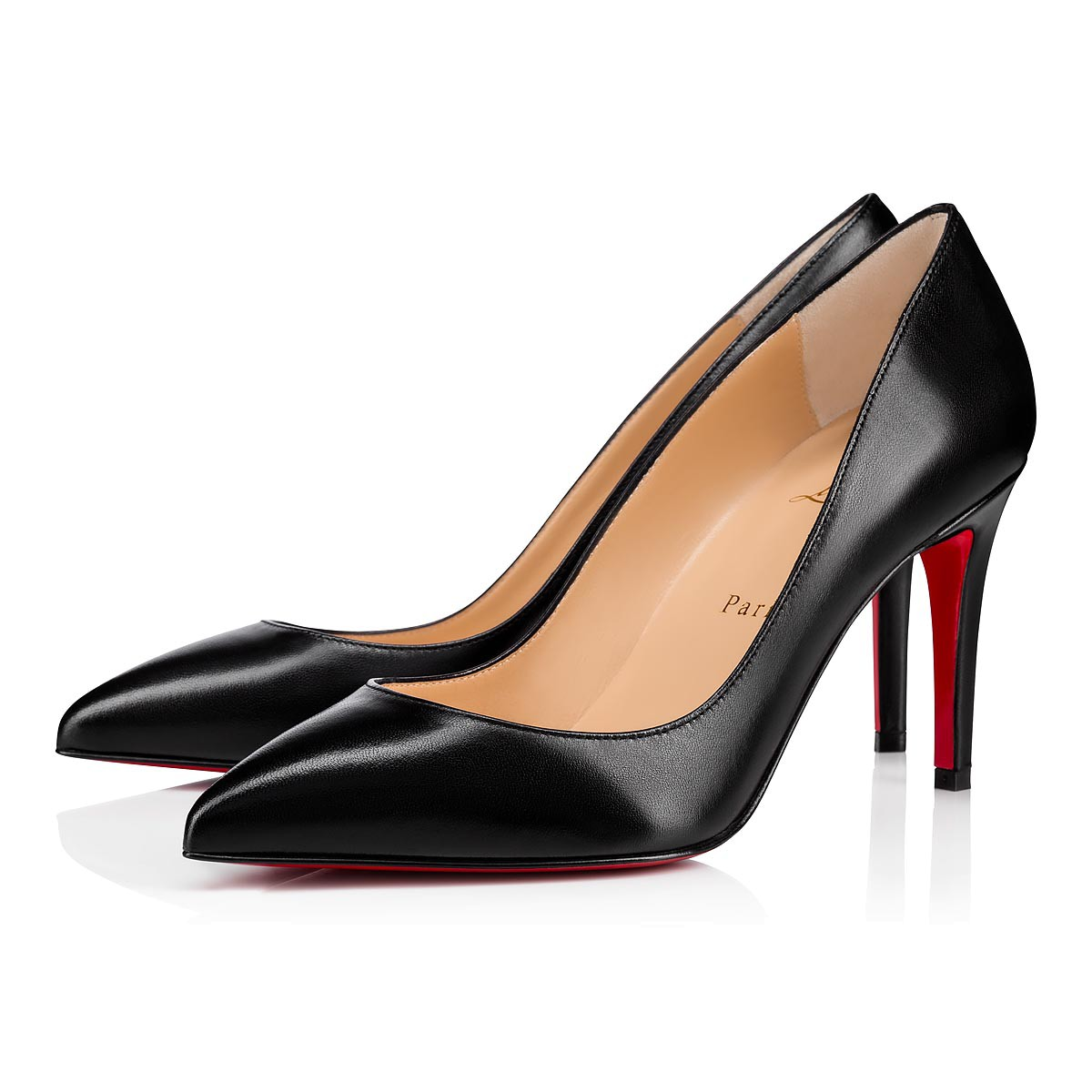 ba95f4f34b2b Pigalle 85 Black Leather - Women Shoes - Christian Louboutin