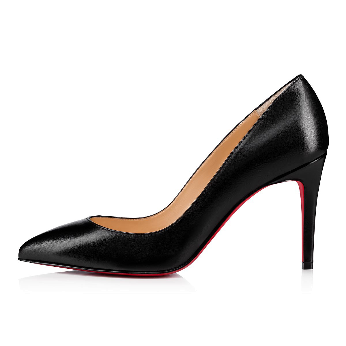 quality design 2f2d3 83acb Pigalle 85 Black Leather - Women Shoes - Christian Louboutin